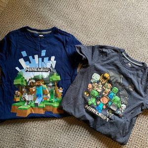 2 Boys Minecraft Shitts